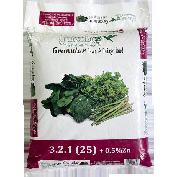 KHULA KAHLE 3.2.1.(25) Lawn foliage fertilizer 10kg