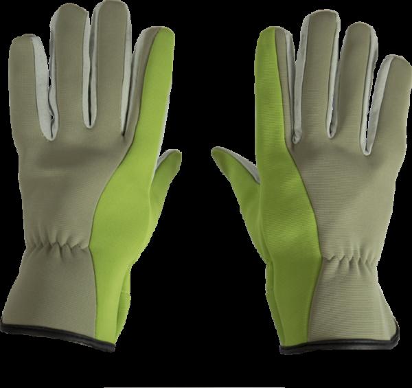 Garden glove padded leather unisex