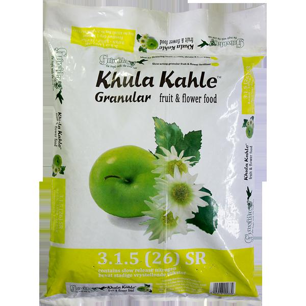 KHULA KAHLE 3.1.5.(26) SR Fruit and Flower fertilizer 5kg