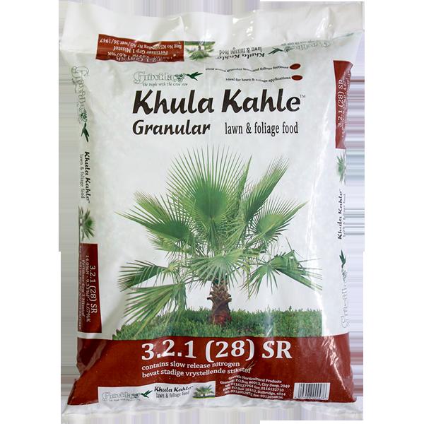KHULA KAHLE 3.2.1.(28) SR Lawn foliage fertilizer 5kg