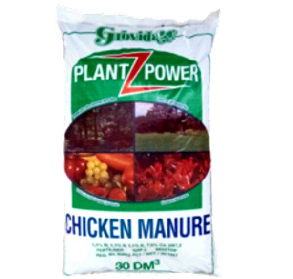 Plant Power chicken Manure 30dm³