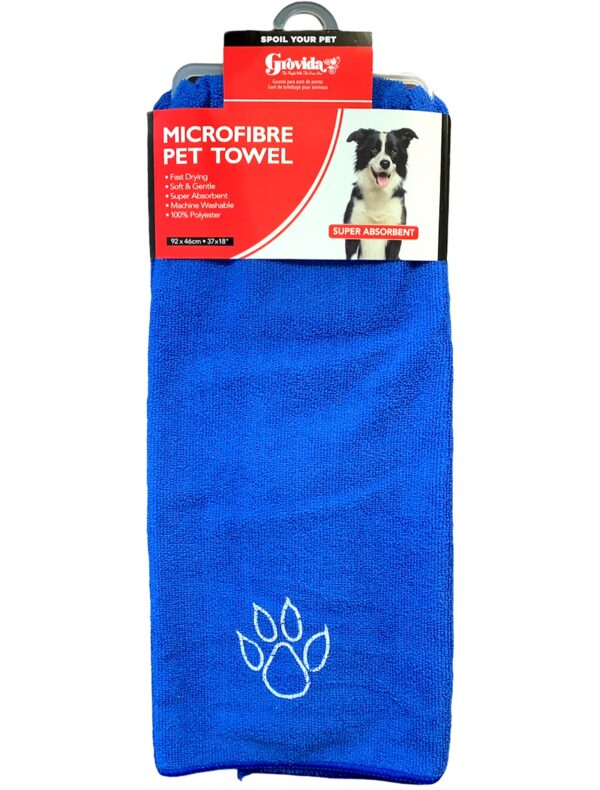 Pet towel micro fibre 92x46cm