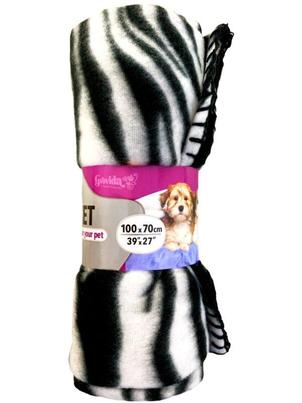 Pet fleece blanket 100cm x 70cm