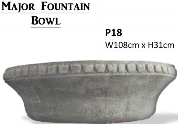 Major Fountain Bowl