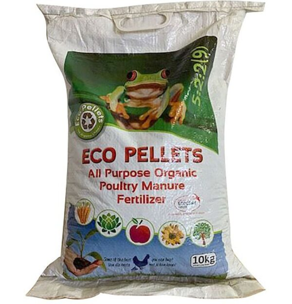 Eco Pellets Chicken Manure Fertilizer 10kg